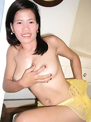 Asian amateur wife fingers her tiny twat